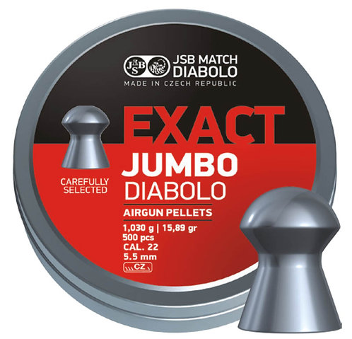 JSB Exact Jumbo Diabolo 22 cal (5.51)