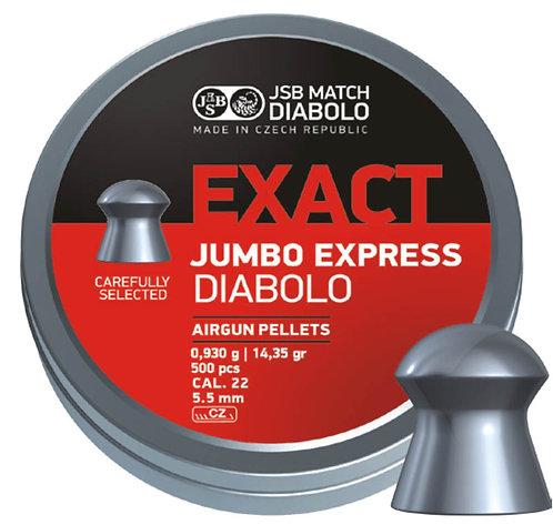 JSB Exact Jumbo Express 22 cal (5.52)