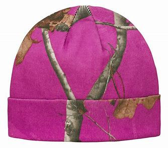Pinewood AP Hotpink Camo Beanie Hat