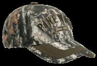 Pinewood Strata/Suede Brown Camo Cap