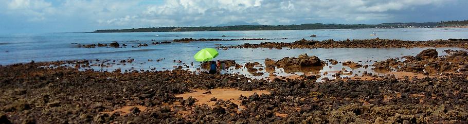 Praia dos Padres em Aracruz