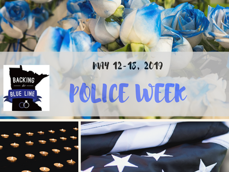 Police Week 2019: A Quick History and Minnesota's Events