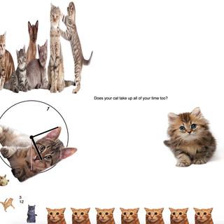 Javascript Cat Clock