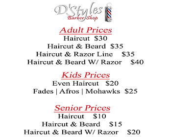 Dstyles_Barber_Shop_Prices