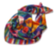 foulard in 100% twill di seta, made in Italy