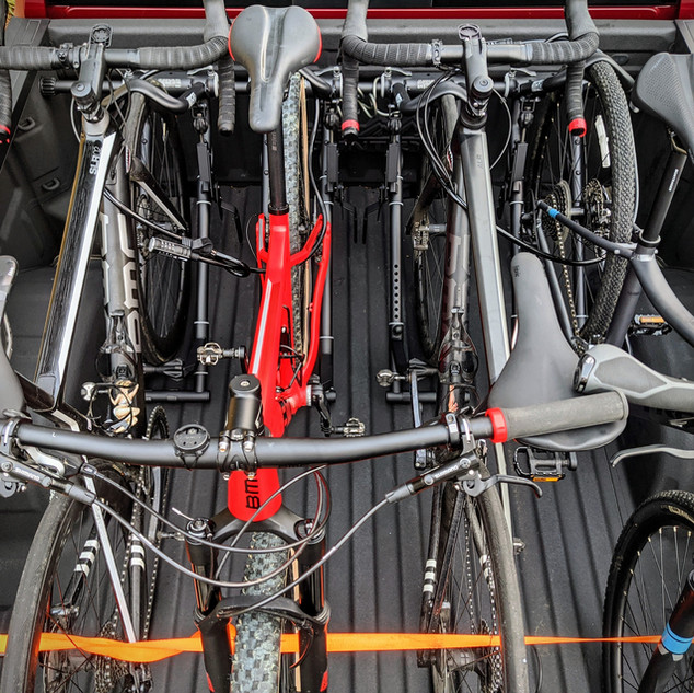 4 Bikes Loaded!