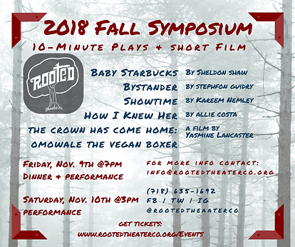 Rooted Theater Company Symposium+Flyer.p
