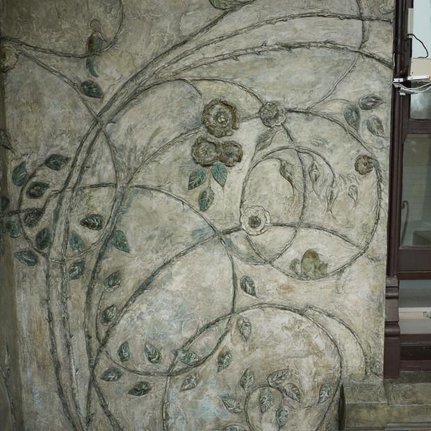 Brucemore Estate / Cedar Rapids, IA - Grant Wood Relief Art Conservation