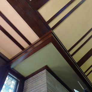 William A. Glasner House / Glencoe, IL - Interior Finish Study & Assesment