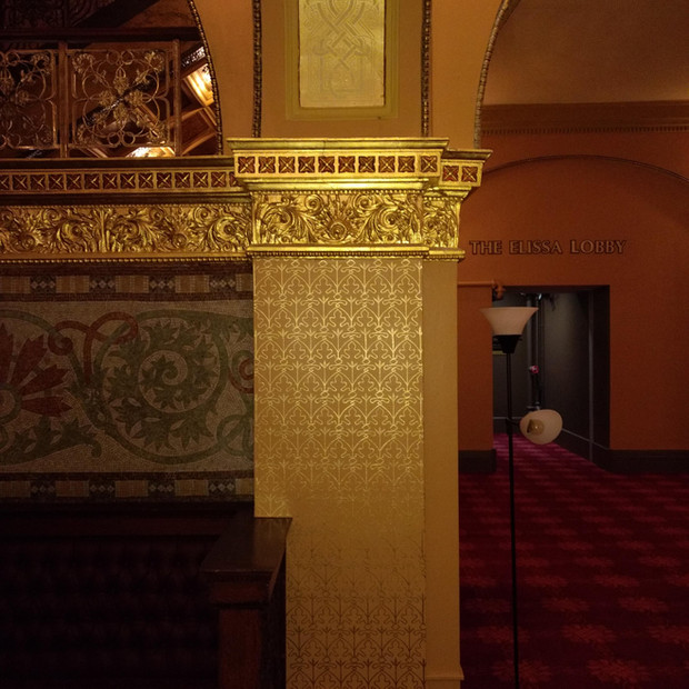 Auditorium Theatre / Chicago, IL - Dress Circle Stencil Restoration