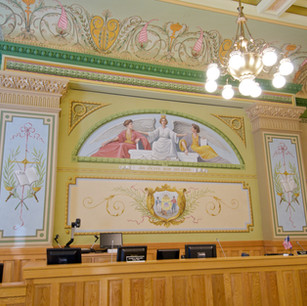 Ozaukee County Courthouse / Port Washington, WI - Courtroom Restoration