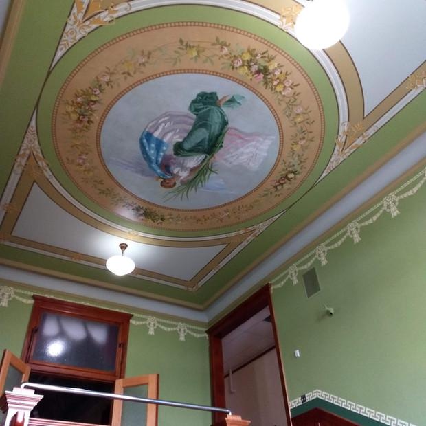 Ozaukee County Courthouse / Port Washington, WI  Main Stair Restoration