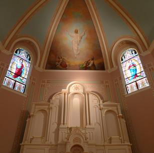 St. Francis de Sales Catholic Church / Paducah, KY - Mural Conservation & Interior Decorative Painting