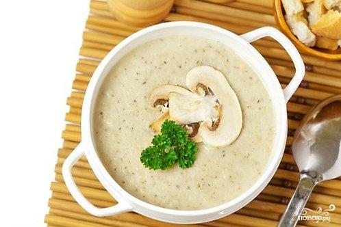 Крем суп с шампиньонами
