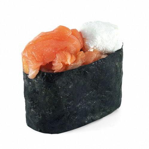 Сырный с лососем