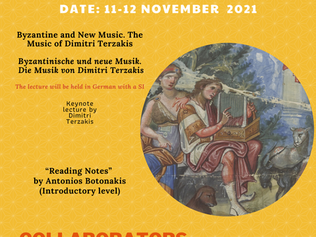 """""""Strolling Through Echoes of the Past"""": Mini symposium/workshop about Byzantine music"""