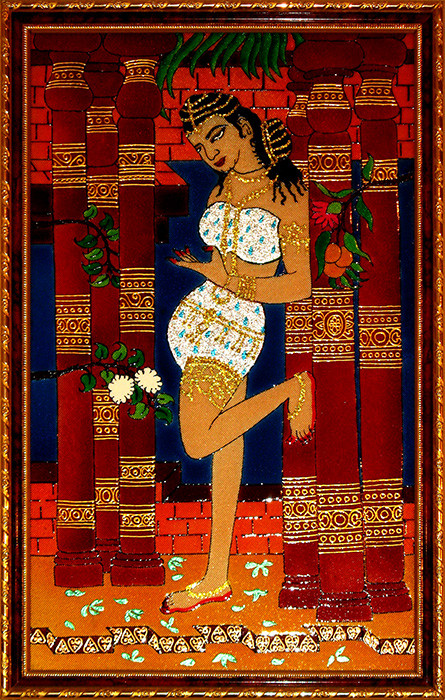 [CA407] Adaptation of a Fresco from Ajanta