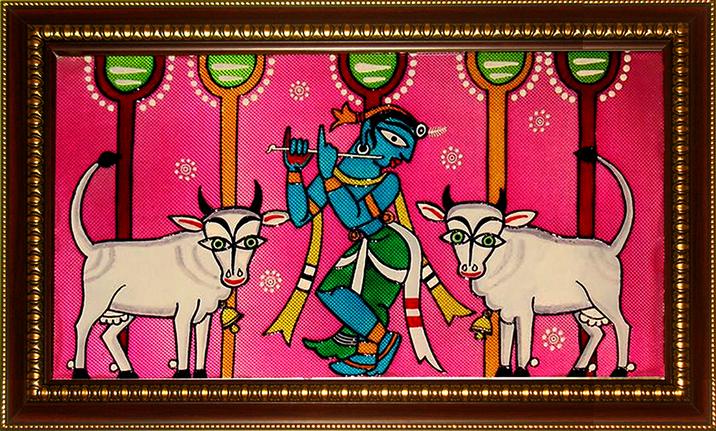 [CA204] Jamini Roy's Krishna: The Cowherd
