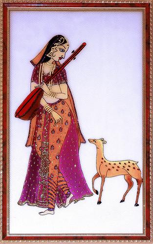 [CA105] Mirabai With Deer