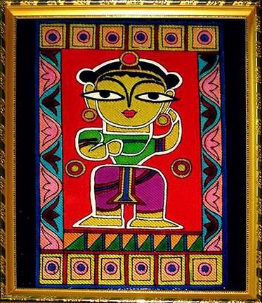 [CA205] Jamini Roy's Krishna