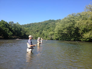 Toccoa Tailwater Trout Fishing