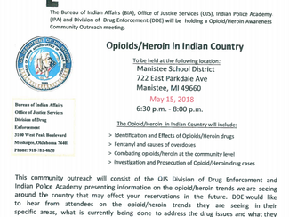Opioid & Heroin Awareness in Manistee County
