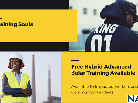 Learn To Install Solar Photovoltaics in the NAACP Hybrid Training Program