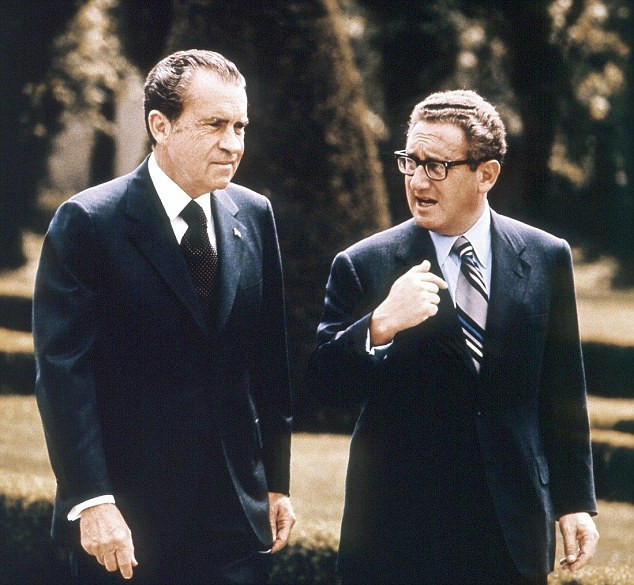 Richard Nixon and Henry Kissinger