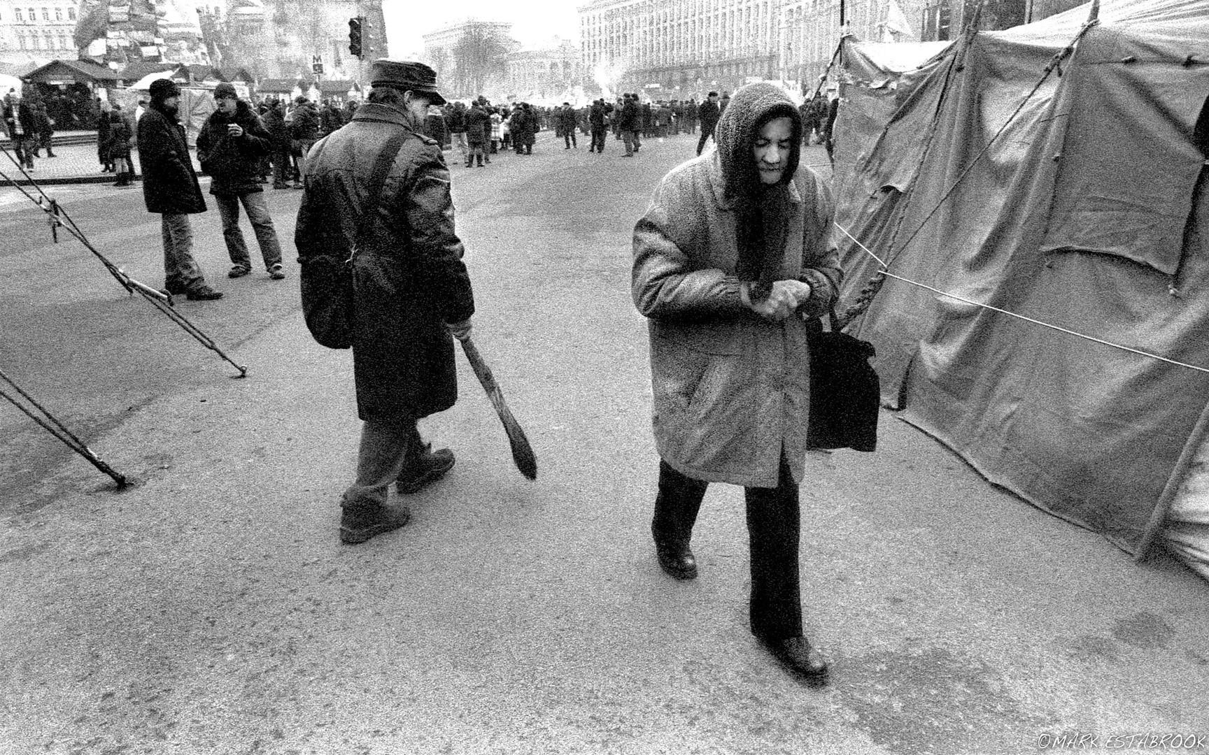 Cold in Maidan