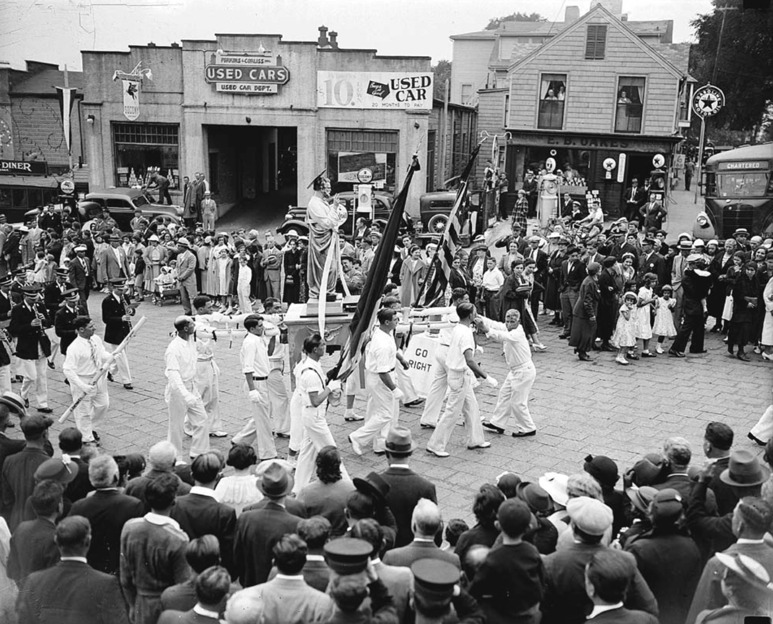St. Peter's Fiesta procession, c.1935