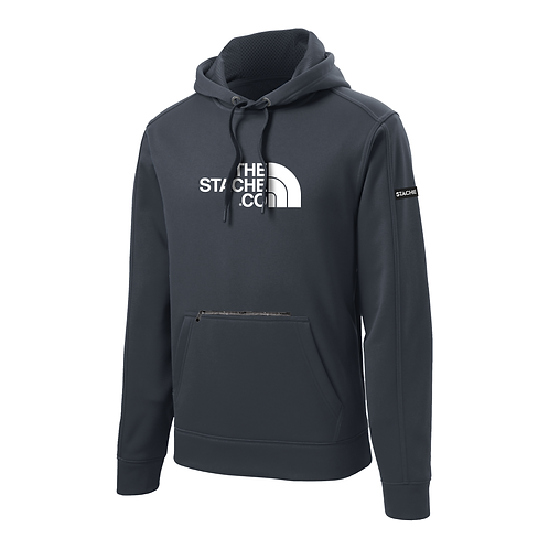 """""""The Stache Co"""" Water Resistant Hoodie - Graphite"""