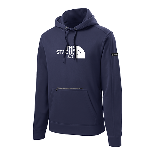 """""""The Stache Co"""" Water Resistant Hoodie - Navy"""
