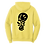 Thumbnail: Melted Smiley Stache Hoodie - Yellow