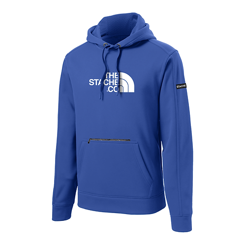 """""""The Stache Co"""" Water Resistant Hoodie - Royal"""