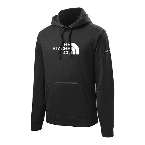 """""""The Stache Co"""" Water Resistant Hoodie - Black"""
