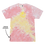 Thumbnail: Tie Dye Smiley Stache Tee - Funnel Cake