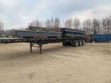 Load of beams ready to be shipped