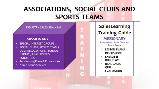 Associations Social Clubs and Sports Teams