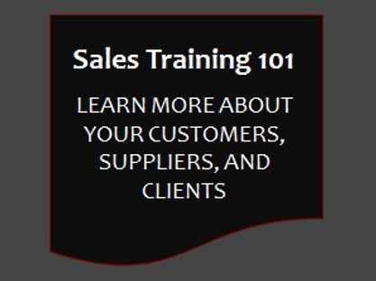 Sales Training 101 - Business Intelligence