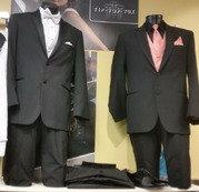 Top 2 Bottom Tuxedo Men's Suit Rental