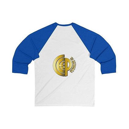 CEPTV Logo Unisex Tee Shirts w/Baseball Sleeves
