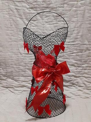 Krafty & Creative Wire Basket Black