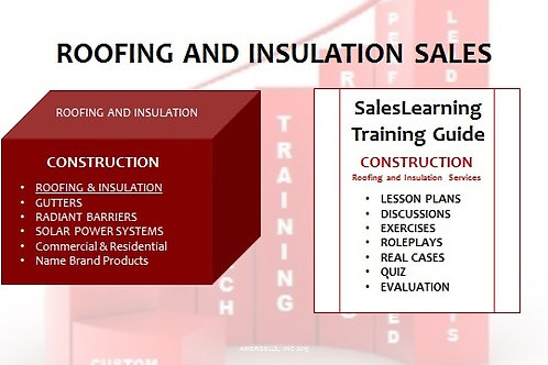 PACKAGE - INDUSTRY TRAINING - Roofing-Insulation