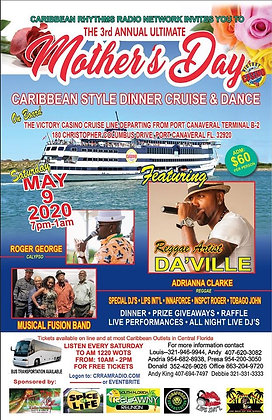 Caribbean Mother's Day Cruise & Dance