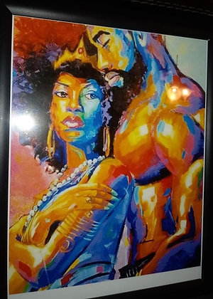 Black Colored Love By JT Art Gallery