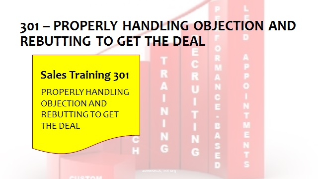 301 Properly Handling Objections