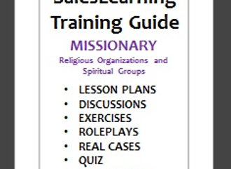 TRAINING MANUAL - Religious Groups