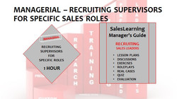 Managerial Recruiting Supervisors