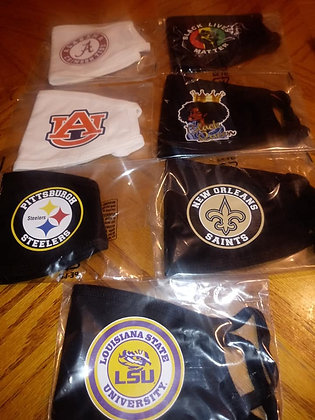 College Team Masks By Jeanette's Treasures