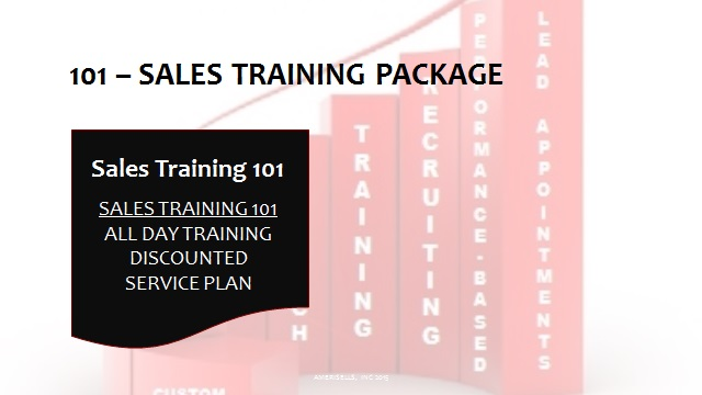 101 Sales Training Package